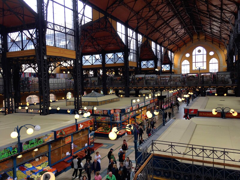 Budapest Halles centrales 5